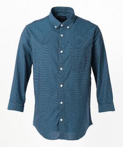 コットンパナマ 7分袖 シャツ