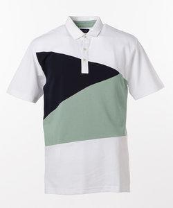 切り替えデザイン ポロシャツ