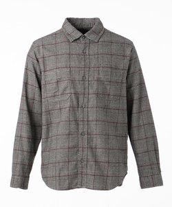 チェック ネルシャツ