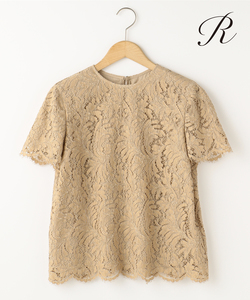 【LIMITED SHOP R(アール)】RIECHERS MARESCOT LEAVERS LACE ブラウス