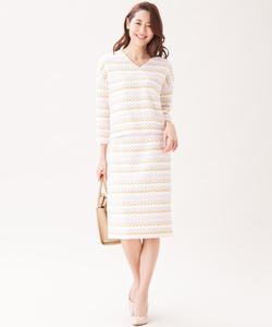 【セットアップ対応】TOURNIERファンシーツイード スカート