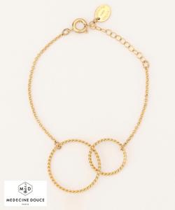 【MEDECINE DOUSE】WCircle Bracelet ブレスレッド