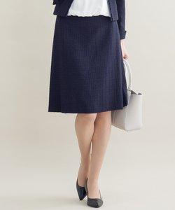 【セットアップ対応】ライトシャインツィード スカート
