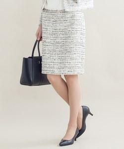 【セットアップ対応】CLARENSON ファンシーツイード スカート
