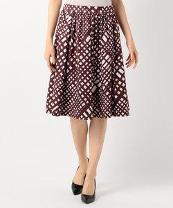 【一部店舗限定カラーあり】バイヤスチェックプリント スカート