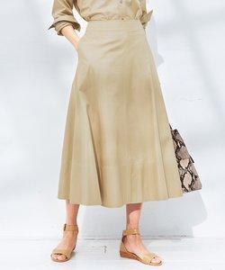 【中村アンさん着用】CANCLINI コットンツイルスカート(検索番号F36)