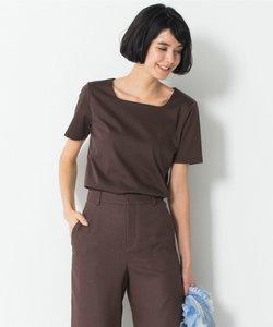 【洗える】DOUBLE SMOOTH スクエア Tシャツ