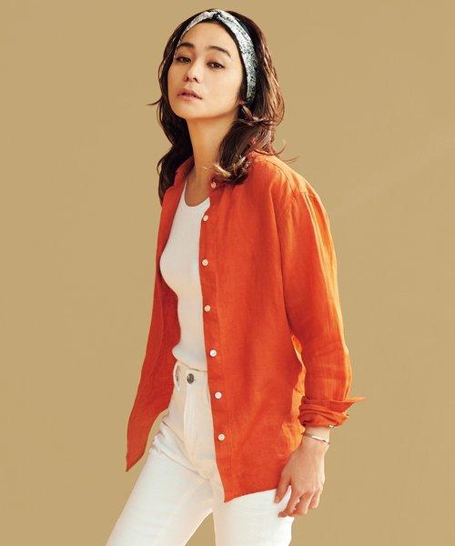 【マガジン掲載】LIBECO LINENシャツ(番号K25)