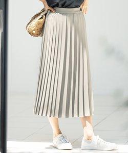スムースプリーツツイル スカート