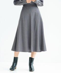 【中村アンさん着用】クリアドライウールフレア スカート(番号G48)