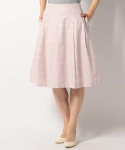【洗える】シアーチェック スカート