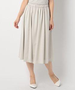 【洗える】ヴィンテージサテンギャザー スカート