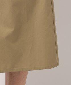 【洗える】ハイカウントサテン コート