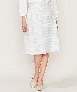 【セットアップ対応】ラメループモールツイード スカート