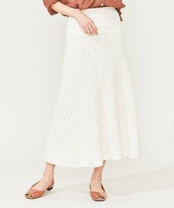 【Oggi6月号掲載】パターンミックス ニットスカート