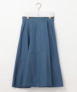 【Rythme KUMIKYOKU】ハイカウントサテン スカート