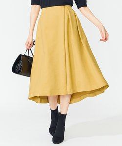 【Oggi9月号掲載】マットスエード フレアスカート