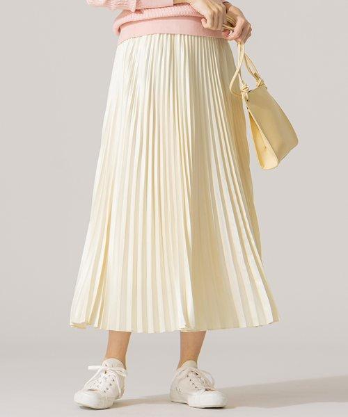 【春の新色2色登場!/洗える】アコーディオン プリーツスカート