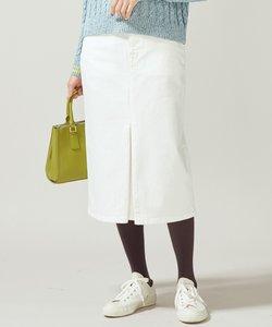 【洗える】AQUATIC DENIM デニムスカート