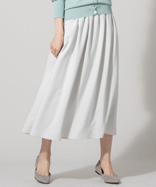 【肩ひも付き・2WAY】ヌーディスバックサテン スカート