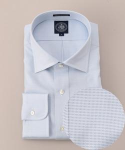 【キングサイズ】プレミアムプリーツ セミワイドカラーシャツ