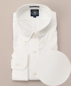 【キングサイズ】プレミアムプリーツ80/2ボタンダウン シャツ