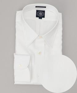 【キングサイズ】PREMIUMPLEATSチップカラー シャツ