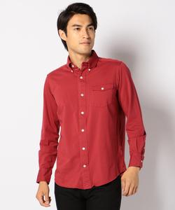 ハイゲージ鹿子BDパチフラシャツ