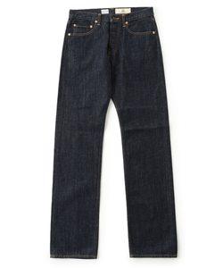 【CANTON】オリジナルデニム レギュラーフィット 5ポケット パンツ