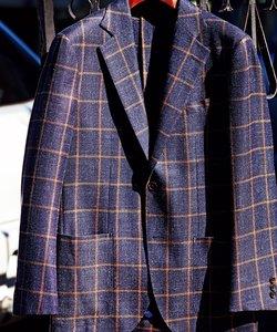 【LORO PIANA】リネンツイード ジャケット(検索番号W174)