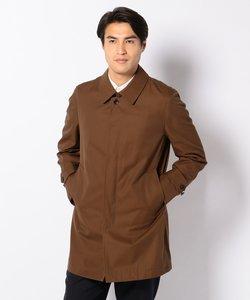 シャンブレー ギャバジン ステンカラー コート