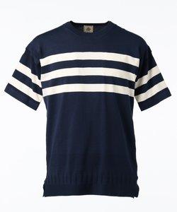 【HUSTON GASS】ガンジーニット Tシャツ