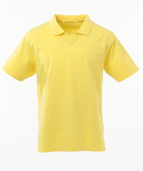 【大人気】ハイツイストジャージー スキッパーポロシャツ