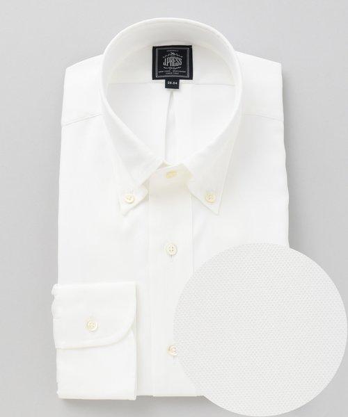 【形態安定】PREMIUM PLEATS / ピンオックスボタンダウン シャツ