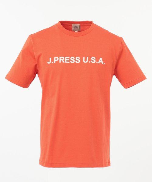 ロゴクルーネック Tシャツ