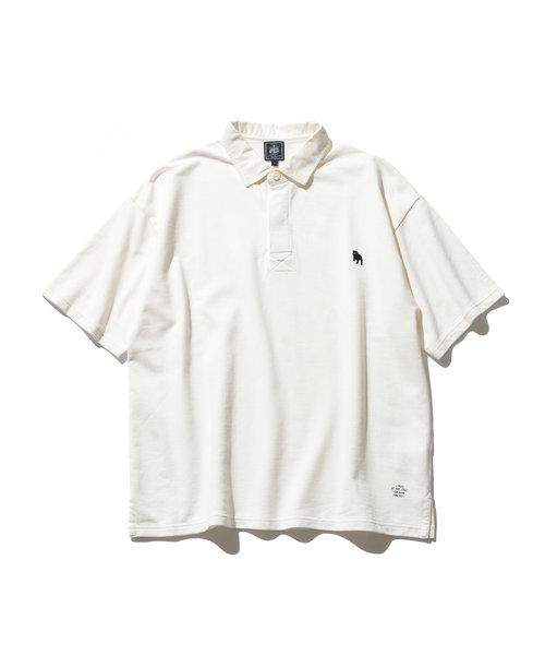 【大人気】バックブル ラガーシャツ
