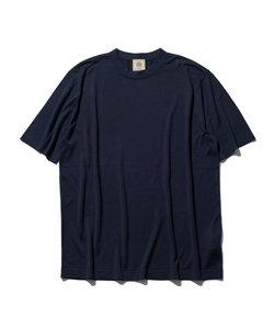 ニット シルクTシャツ