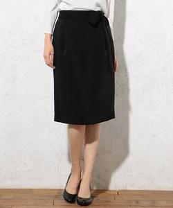 【セットアップ対応】ヴィーナスダブルクロス 腰リボン付きスカート