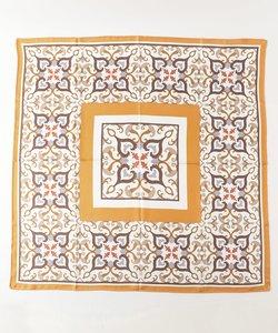オリエンタルタイル柄スカーフ