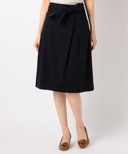 【洗える】ツイルジャージー スカート