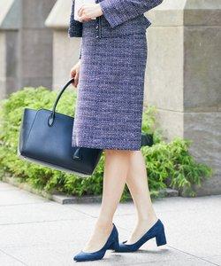 【セットアップ対応】ファンシーツイード スカート