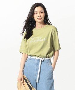 【WEB限定色あり】エンブロイダリー 大人ロゴ Tシャツ