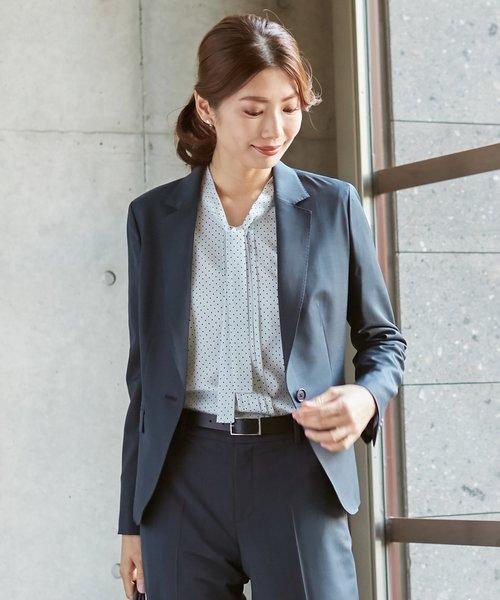 【スーツ】BAHARIYEネイビー テーラードジャケット