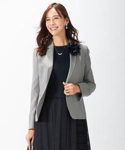 【セットアップ対応】シルクレーヨンスーティング テーラードジャケット