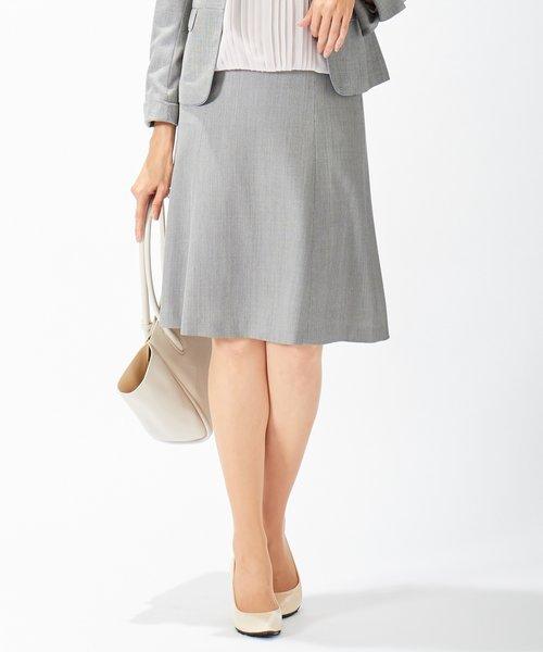【セットアップ対応】シルクレーヨンスーティング スカート
