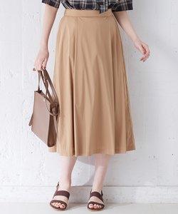 【洗える】コットンナイロンシルキーローン スカート