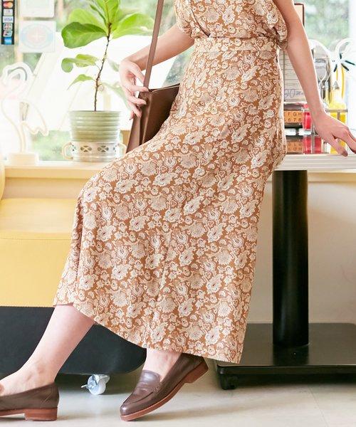 【洗える】LIBERTY Tiger Lily スカート