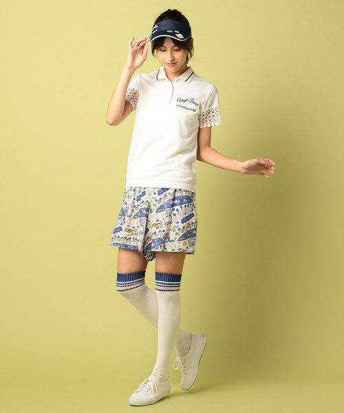 【WOMEN】トランスクールカノコPE ポロシャツ
