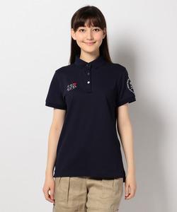【WOMEN】【20周年記念】3色超長綿シルケットカノコ ポロシャツ