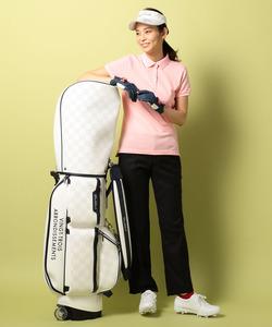 【WOMEN】【WEB限定】20色超長綿シルケットカノコ ポロシャツ